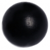 Wooden Bead Round 30mm Black Polished With 3.4mm Hole